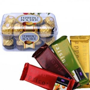 2 IN ONE Chocolate Gift Hampers floristchennai